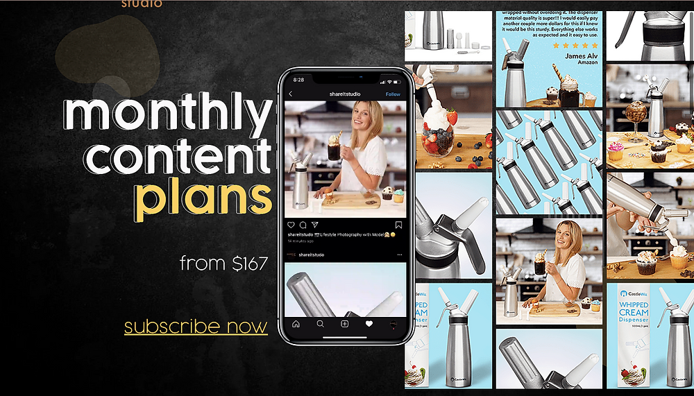 Share It Studio Monthly Content Plans