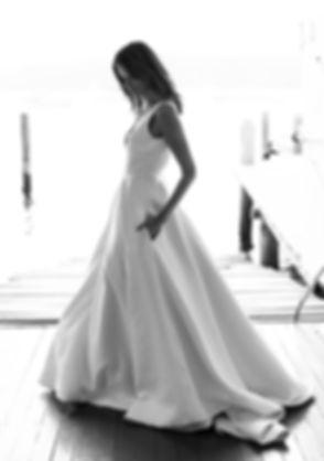Jennifer Go Bridal Couture Wedding Dress Sydney Designer Gown