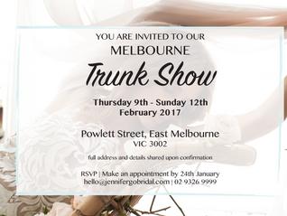 Melbourne Trunk Show