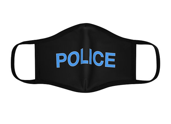 Purim POLICE Fitted Polyester Face Mask