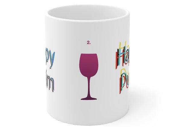 Happy Purim Funny - 2. Ceramic Mug 11oz
