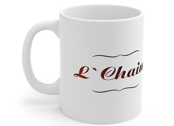 L'Chaim Mug 11oz