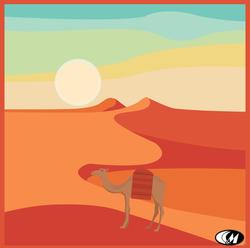 Sand Dunes and Sun