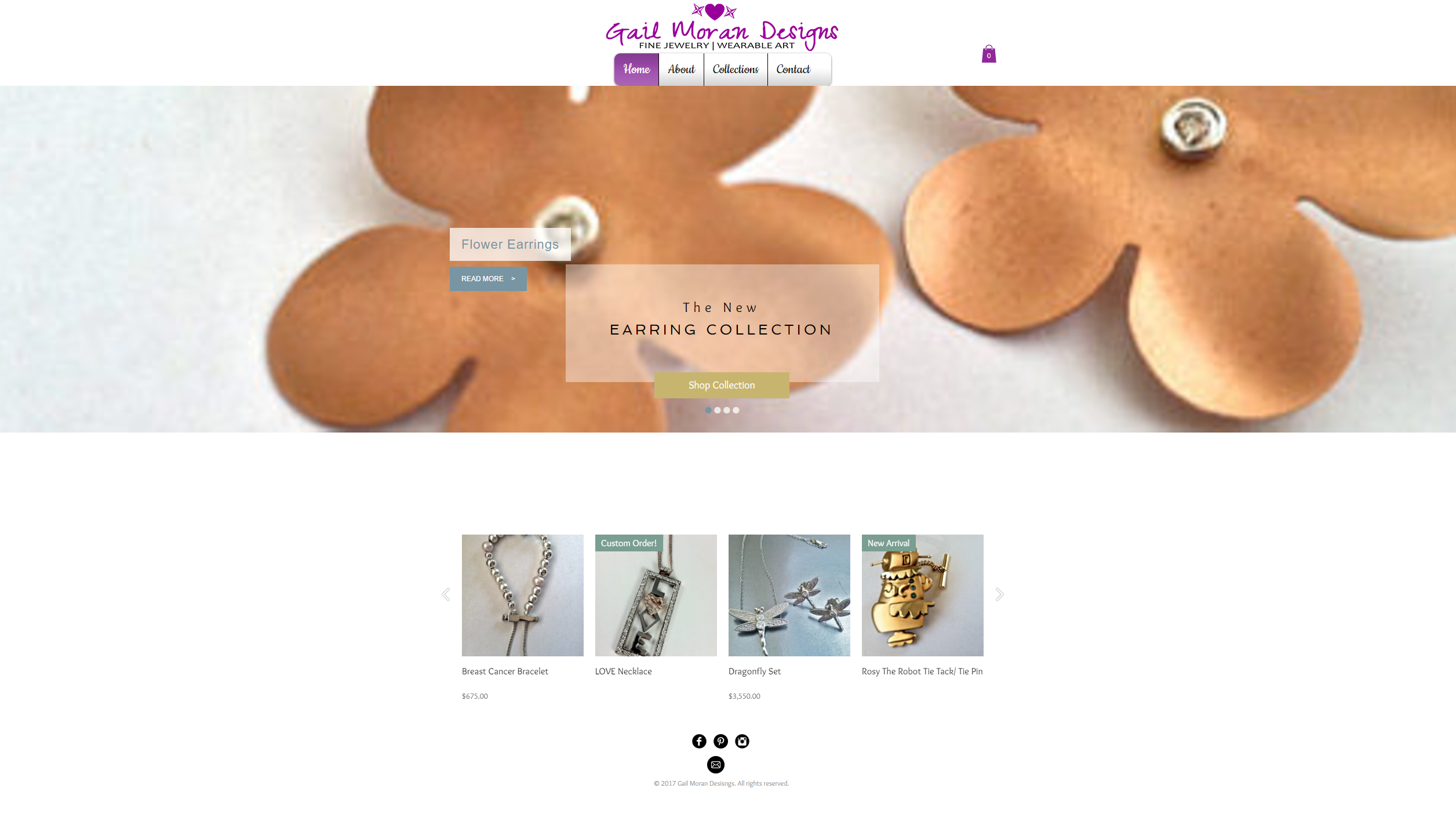 Gail Moran Designs Website-Home