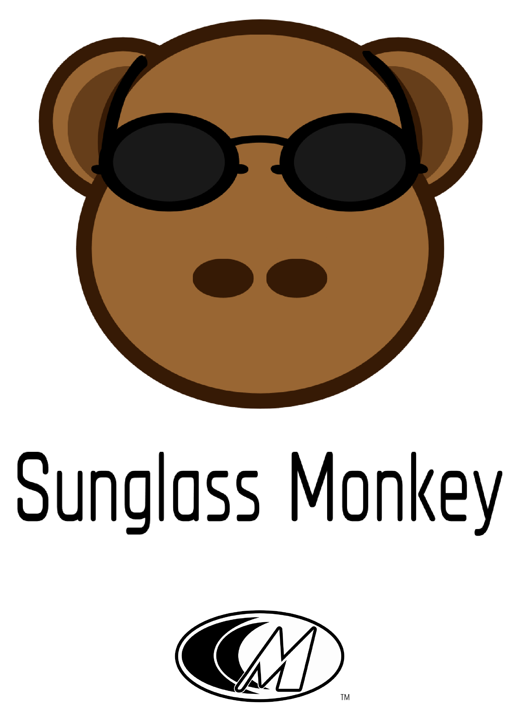 Sunglass Monkey with my logo