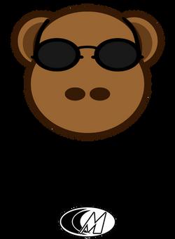 Sunglass Monkey with my logo