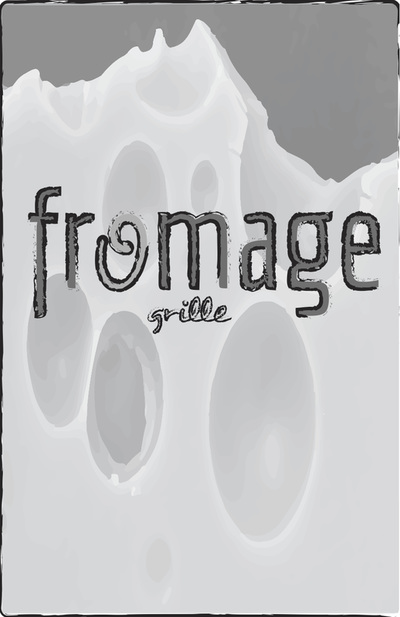 Fromage Grille Logo for Menu