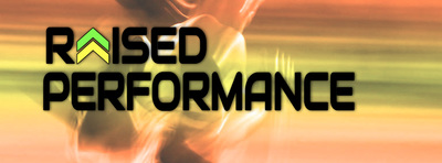 Raised Performance Logo
