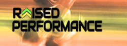 Raised Performance Logo