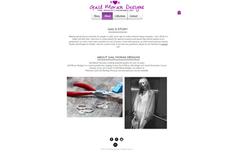 Gail Moran Designs Website- About
