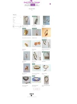Gail Moran Designs Website- Collections