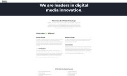Zest Media Technologies Website-Home