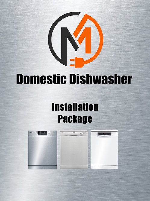 Domestic Dishwasher - Installation Package