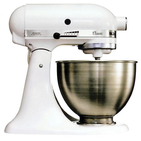 Kitchenaid Ultra Power Mixer White KSM150 (B2B)