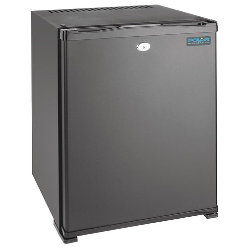 Polar Hotel Room Refrigerator - 30Ltr Black