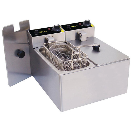 Apuro Double Counter Top Electric Fryer