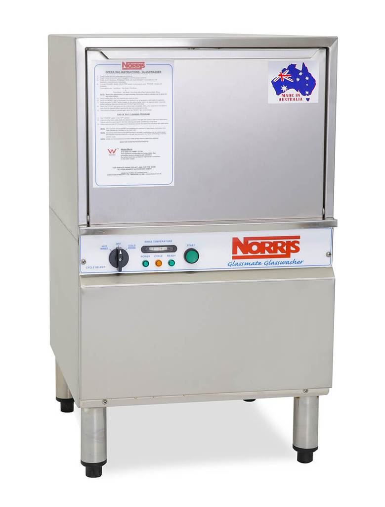 Norris Glassmate Glass Washer - manyanaelectrical.com.au - Lowest Prices.