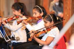 Woodland Strings group St Saviours Xmas 16 2