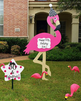 50th Birthday Flamingo