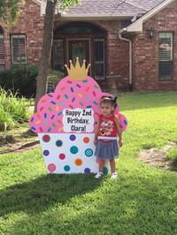 2nd Birthday Cupcake