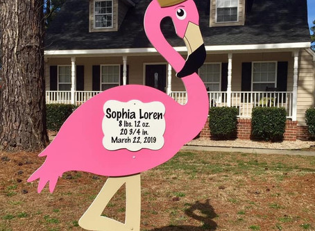 New Baby Yard Sign Rental ~ Bryan, TX