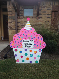 21st Birthday Cupcake