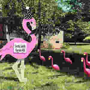 Flamingo Sign Rental, Bryan/College Station, TX