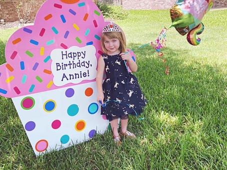 Happy Birthday, Annie!