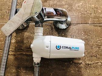 Coral Pure Water Filter Alkaline Water Hydrogen Shower Filter