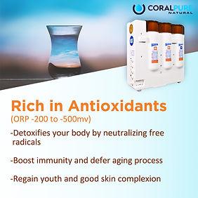 Harmful effects of flouride Coral Pure Water Filter Alkaline Water Hydrogen Purifiers Antioxidant TDS Rich in Anxtioxidants