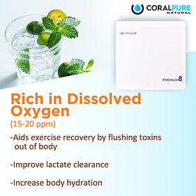 Harmful effects of flouride Coral Pure Water Filter Alkaline Water Hydrogen Purifiers Antioxidant TDS Rich in Dissolved Oxygen