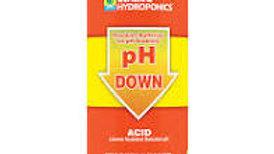 General Hydroponics PH Down 1 Qt
