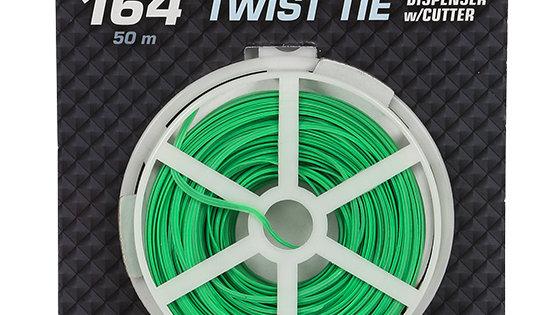 Green Twist Tie 164'