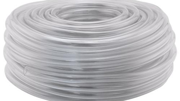1/4 in Clear tubing 100 ft roll