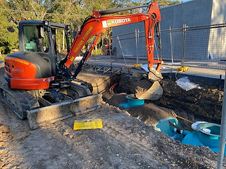 Bathurst Excavation Plumbing