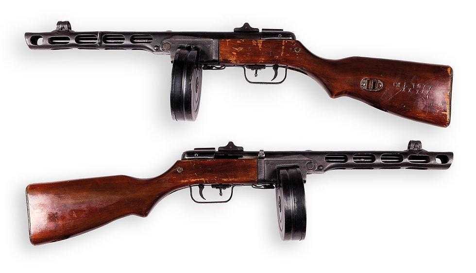 Пистолет-пулемета Шпагина ППШ-СХП Охолощ
