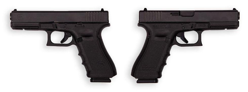 тир гепард  Glock mod. 22 Gen 4 (Австрия)