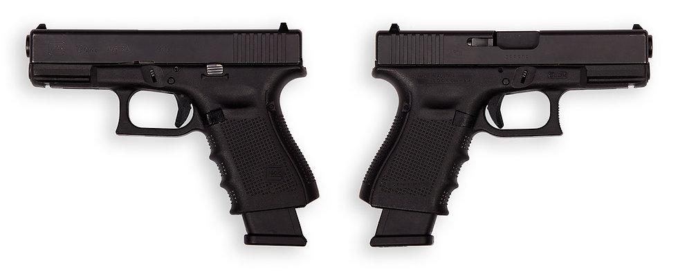 тир гепард  Glock mod. 19 Gen 4 (Австрия)