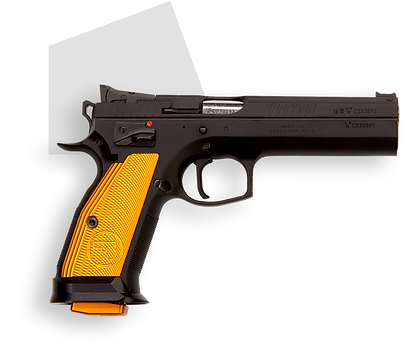 фото тир гепард CZ 75 TS ORANGE (Чехия)