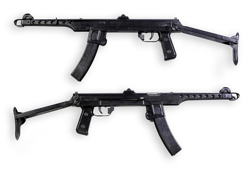 Пистолет-пулемет Судаева Охолощенный