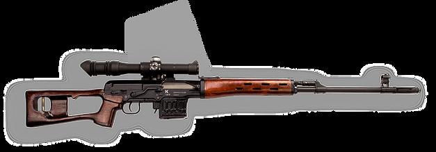 Карабин охотничий Тигр-01 (Снайперская винтовка Драгунова СВД)
