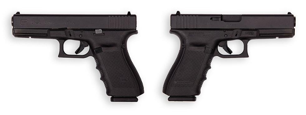 тир гепард  Glock mod. 21 Gen 4 (Австрия)
