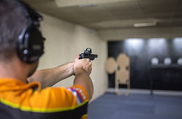 стрельба из пистолета гепард тир