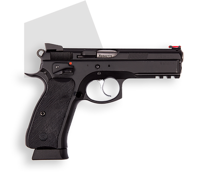 фото тир гепард  CZ-75 SP-01 SHADOW (Чехия)