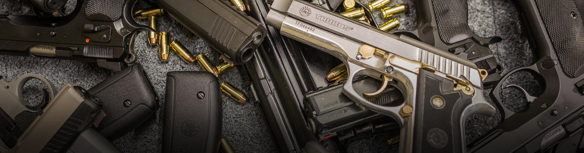 фото пистолетов в тире гепард
