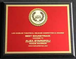 Alex Staropoli's Soundtrack Wins LATCA FILM AWARDS 2017