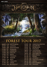 Whispered on tour with Wintersun
