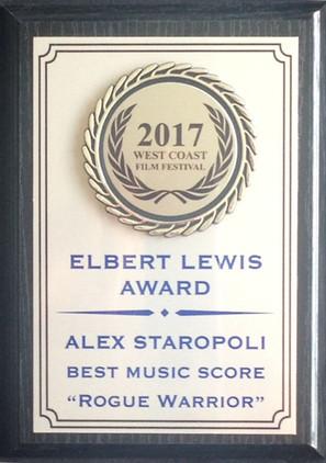 ELBERT LEWIS AWARD
