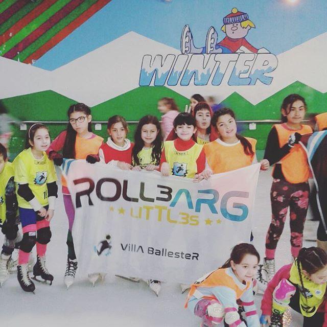 Pista de patinaje #RolleArg #Winter #hielo #domingo #patin #alumnos #pista #rollers #tarde