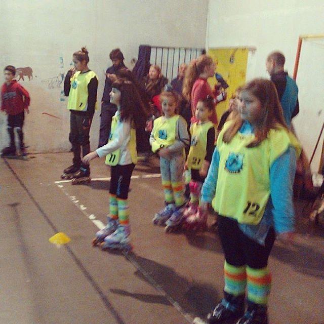 Entrenamiento de los Littles ! #rollearg #academia #aprendiendo #entrenamiento #actividades #grupo #